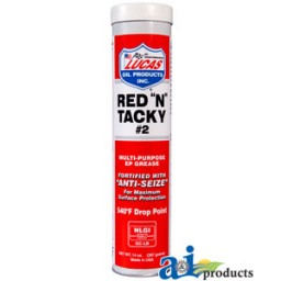 "10005 - Lucas Red ""N"" Tacky Grease (14 oz)"