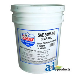 10066 - Lucas 80W-90 Heavy Duty Gear Oil (5 gallon)
