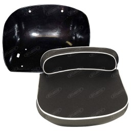 1210-1604 - Pan And Black Cushion Seat Set
