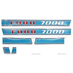 S.12682 Decal Kit, Ford 7000