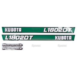 S.20360 Decal Kit L1802dt
