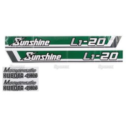 S.20366 Decal Kit, L1-20