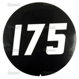 S.2037 Decal For Mf 175 -