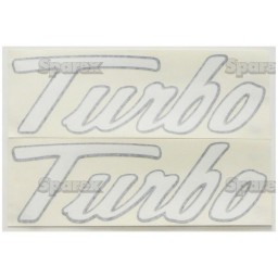 S.22561 Decal- Turbo  Set Of 2