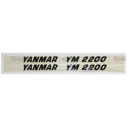 S.23109 Decal- Yanmar Ym2200
