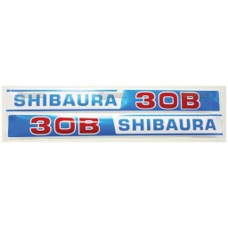 S.23122 Decal- Shibaura S30b