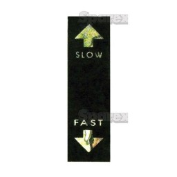 S.23127 Decal- Fast/Slow