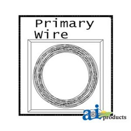 26A12 - Coil Pack Primary Wire, 12', 12 Ga. (YLW)