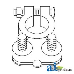 26A5566 - Battery Cable Ends, H.D. Lead Reusable, (#1Ga. to 4/0Ga