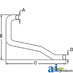 311051 - Horizontal Outlet Pipe