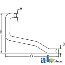 311467 - Horizontal Outlet Pipe