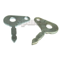 S.4024 Key, Ignition, 2 Pcs, S.03990, 5112713