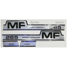 S.42851 Decal Kit, Mf 265, Hood