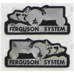 S.43570 Ferguson System Decal Set Small
