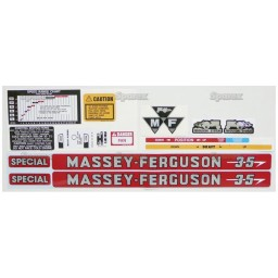 S.43571 Decal Kit, Mf 35 'Special'