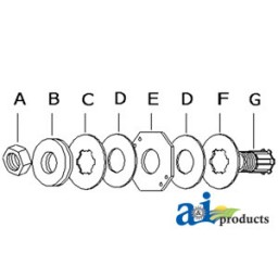 4406 - Clutch Assembly, w/ 2 springs