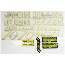 S.52707 Decal Kit, Jd 70 Gas