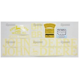 S.52715 Decal Kit, Jd Br - Clear
