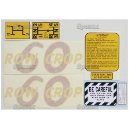 S.53147 Decal Kit, Oliver 60 Rowcrop