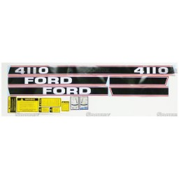 S.66677 Decal Kit, 4110 81-86