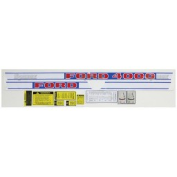 S.66691 Decal Kit, 4000 68-75 Gas