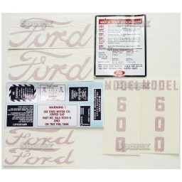 S.66695 Decal Kit, 600, 55-57