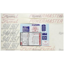 S.66700 Decal Kit, 901 58-62