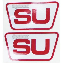 """S.66826 Decal Kit, """"Su"""", Set Of Two"""