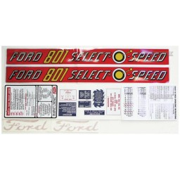 S.66882 Decal Kit, 801, Select-O-Speed
