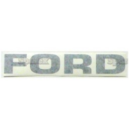 S.67195 Decal- Ford  Black Letters