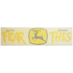 S.67829 Decal, 'Fear This' Jd