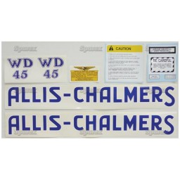 S.70709 Decal Kit, Ac Wd45 , Blue