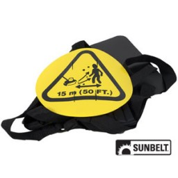 B1SB8570 - Trimmer Harness With Shoulder Strap, Hip Pad And Quick Release