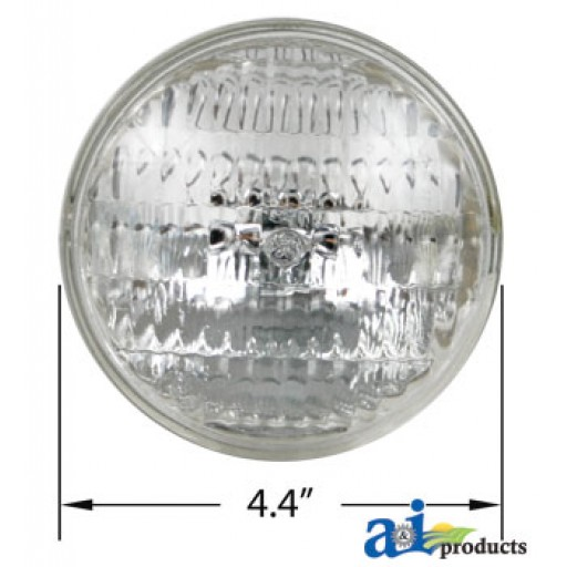 Tractor Headlights Comparison : A replacement sealed beam  volt