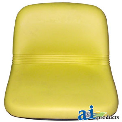 Seat, High Back, Yellow Vinyl