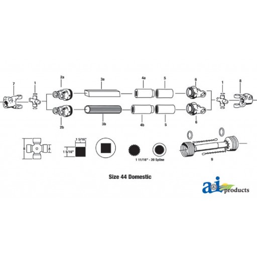 D442000 Cross Amp Bearing Kit