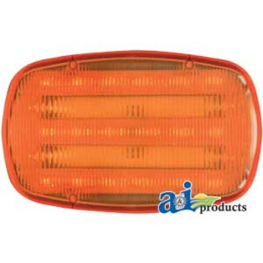 Tractor Safety Lights : Hf a light amber safety flasher magnetic base