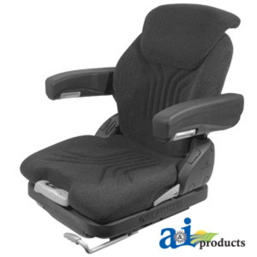 Cloth Tractor Seats : Msg grc assy grammer seat assembly charcoal matrix cloth