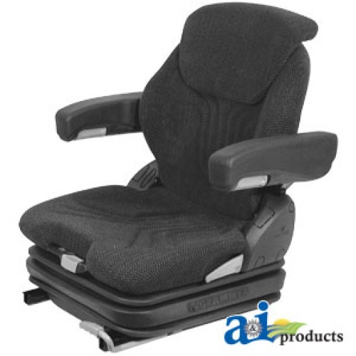 Cloth Tractor Seats : Msg ggrc assy grammer seat assembly charcoal matrix cloth