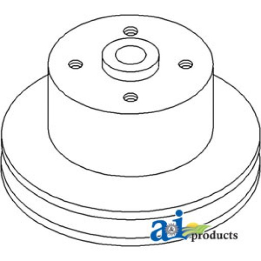 R52011 Water Pump Pulley Single Groove