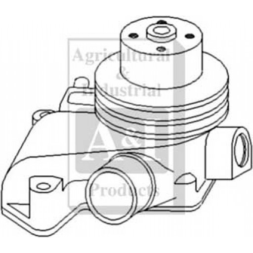 Re20024 Water Pump Less Pulley