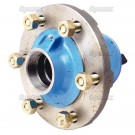 S.65125 Hub Assembly, Front Less Cups & Bearings