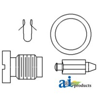 015479A - Needle & Seat, Carburetor