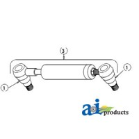 1033035M91 - Male Ball Joint End (Ref. 1)