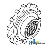 107415A - Coupler Sprocket, Front