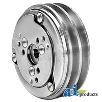 1081455M91 - Clutch - Sanden Style (2 Groove 5.22 Pulley) (X Dim = .507,