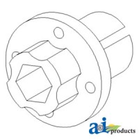 1319402C1 - Hub, Beater Drive Pulley