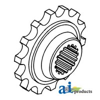 155533A - Coupler Sprocket, Rear