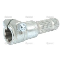 S.15904 Pto Adaptor, 1 3/8-6x1 3/8-21, Bolt, Hd