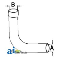 161214A - Radiator Hose, Upper